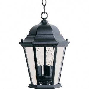 Maxim South Park Series 3-Light Outdoor Hanging Lantern 6095CLBK