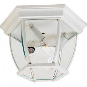 Maxim 3-Light Outdoor Ceiling Mount 1029WT