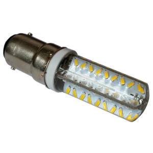 EG Custom EAT120S86W30K S8 type LED 6w BA15d 120v 3000k Warm Mini Bulb