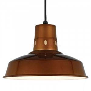 """Hi-Lite H-15612 Vented Warehouse Barn Shade 12"""", Optional Color and Mounting Configuration"""