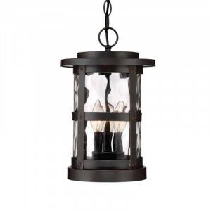 "Designers Fountain 22734-SB Terraza Collection 9"" Outdoor Hanging Lantern (Residential LED Fixtures)"