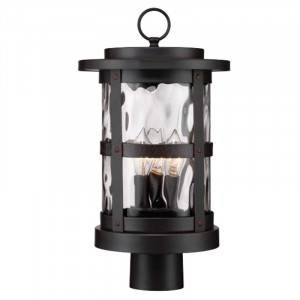 """Designers Fountain 22736-SB Terraza Collection 9"""" Outdoor Post Lantern (Residential LED Fixtures)"""