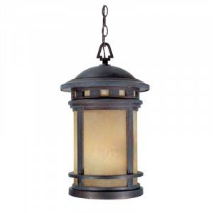 "Designers Fountain 2394-AM-MP Sedona Collection 11"" Outdoor Hanging Lantern (Residential LED Fixtures)"