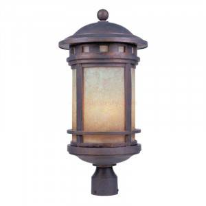 """Designers Fountain 2396-AM-MP Sedona Collection 11"""" Outdoor Post Lantern (Residential LED Fixtures)"""
