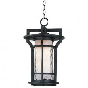 Maxim Oakville Series 1-Light Outdoor Hanging Lantern 30488WGBO