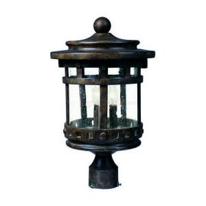 Maxim 3136CDSE Santa Barbara Cast Series 3-Light Outdoor Pole/Post Lantern