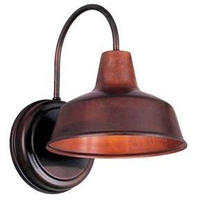 "Hi-Lite H-15110-B Barn Light Warehouse Shade 8"", Optional Color and Mounting Configuration"