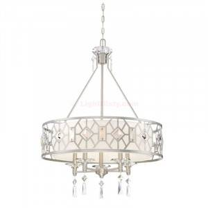 Designers Fountain 90185-SP Brentwood Collection 5-Light Chandelier