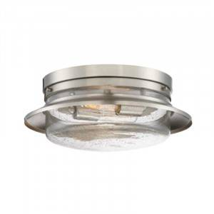 Designers Fountain 91521-SP Dover Collection 2-Light Flush Mount (Residential LED Fixtures)