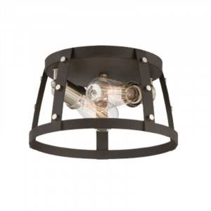 Designers Fountain 91622-RT Presidio Collection 2-Light Flush Mount (Residential LED Fixtures)