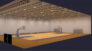Basketball Gymnasium Complete LED Smart Lighting Package