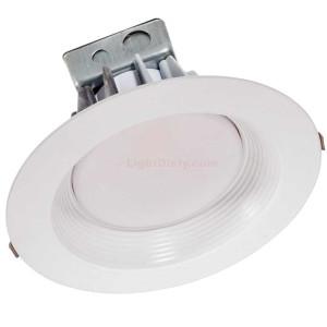 "Halco CDL8FR30/930/RTJB/LED 8"" LED Commercial Retrofit Downlight 30w 3000k, 120-277v White Baffle Trim 99619"