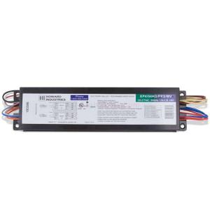 Howard Lighting 4 Lamp T5 Programmed Rapid Start Ballast EP4/54HO/PRS/MV