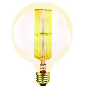 Halco G40ANT40 Antique Carbon Filament Bulb 40 watt G40 20005