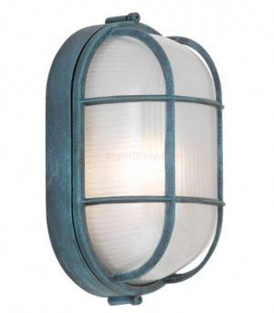 """Hi-Lite H-62205-B Oval Cage Wall Light 4"""" Multiple Color Options"""