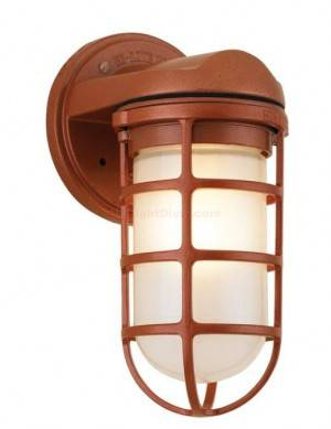 "Hi-Lite H-CGU-HB Classic Saucer Vapor Jar Wall Bracket Light 4"" Multiple Color Options"