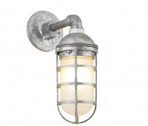 Hi-Lite H-CGU-1B Saucer Vapor Jar Wall Light Multiple Color Options