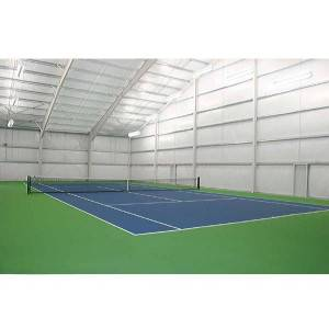 Indoor Single Tennis Court Lighting Package T5 8' HIDEF (Indoor Tennis Court)
