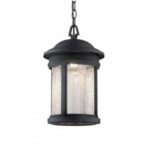 "Designers Fountain LED31134A-ORB Prado Collection LED 9"" Outdoor Hanging Lantern (Residential LED Fixtures)"