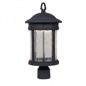 """Designers Fountain LED31136A-ORB Prado Collection LED 9"""" Outdoor Post Lantern (Residential LED Fixtures)"""