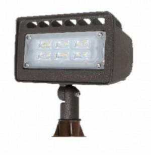 Westgate LF4-12V-12W Die-cast Aluminum 12 Volt 30 Watt LED Integrated Landscape Flood Light