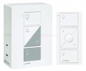 Lutron P-PKG1P-WH Caséta 300W Dimmer with Remote (Dimmers)