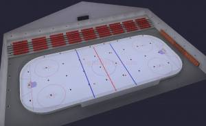 Ice Hockey Facility Complete LED Smart Lighting Package (Indoor Arena)