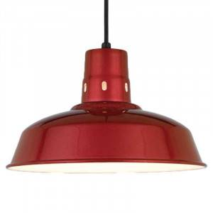 """Hi-Lite H-15614 Vented Warehouse Barn Shade 14"""", Optional Color and Mounting Configuration"""