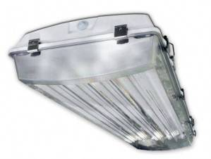 Howard Lighting VHA1 4 Lamp T5 Vapor Tight Fixture VHA1A454APSMV000000I