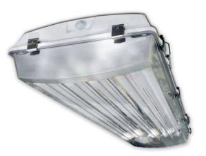 Howard Lighting VHA1 4 Lamp T8 Vapor Tight Fixture VHA1A432ASEMV000000I