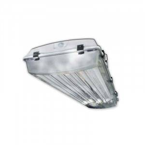 Howard VHA1A6LT8 4FT 6 Lamp T8 Ready Vaporproof Highbay