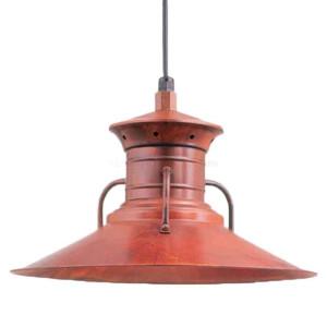 "Hi-Lite H-4110 Vintage Barn Light Milk Man Shade 12"", Optional Color and Mounting Configuration (Standard Decorative)"