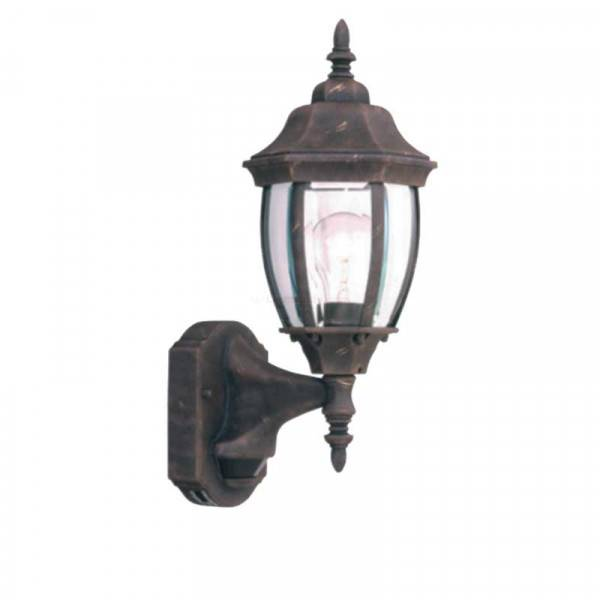 """Designers Fountain 2420MD-AG Tiverton Collection 6"""" Outdoor Wall Lantern w/ Motion Detector (Residential LED Fixtures)"""