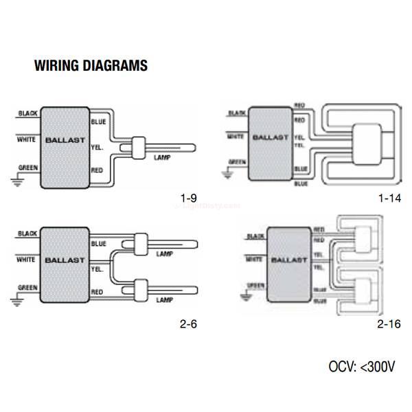 Halco EP2CF13PS/MV/DC/K Prolume CFL 13w 2 Lamp Ballast 52102 on