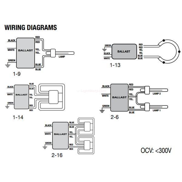 Halco EP2CF26PS/MV/DC/K Prolume CFL 26w 2 Lamp Ballast 52106 on led lamp wiring diagram, tube light wiring diagram, fluorescent lamp wiring diagram, metal halide lamp wiring diagram,