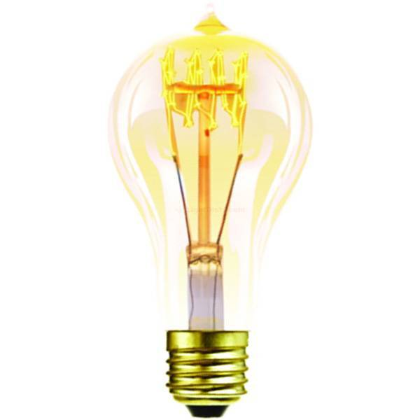 Halco A21ANT40 Antique Carbon Filament Bulb 40 watt A21 20002