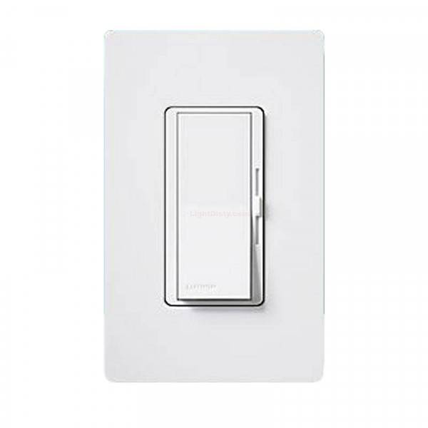 Lutron DVCL-153P Single Pole Dimmer for Dimmable LED/CFL Lamps