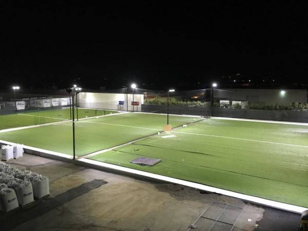 Outdoor 3 Court Futsal Soccer Sports Field Led Lighting