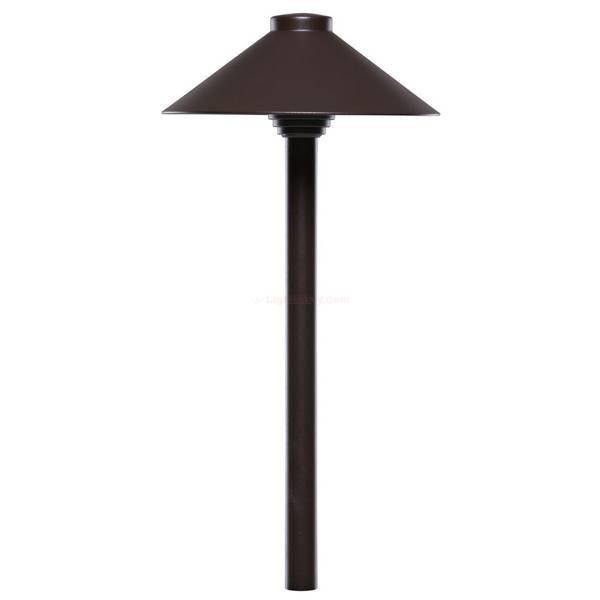 "Sollos PSH075-TZ LED 7.5"" Straight Hat Area Pathway Light Bronze 911030"