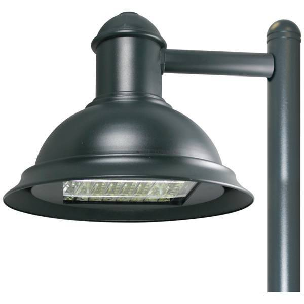 LSI XDLMA LIfestyle Medium Decorative Angle Shade LED HO Area Light 205w