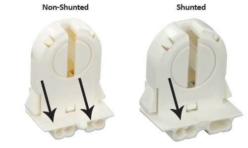 Shunted vs Non Shunted